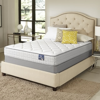 Serta Amazement Plush Split Queen-size Mattress Set