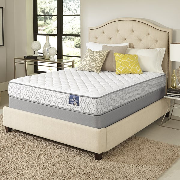 Shop Serta Amazement Firm Split Queen Size Mattress Set