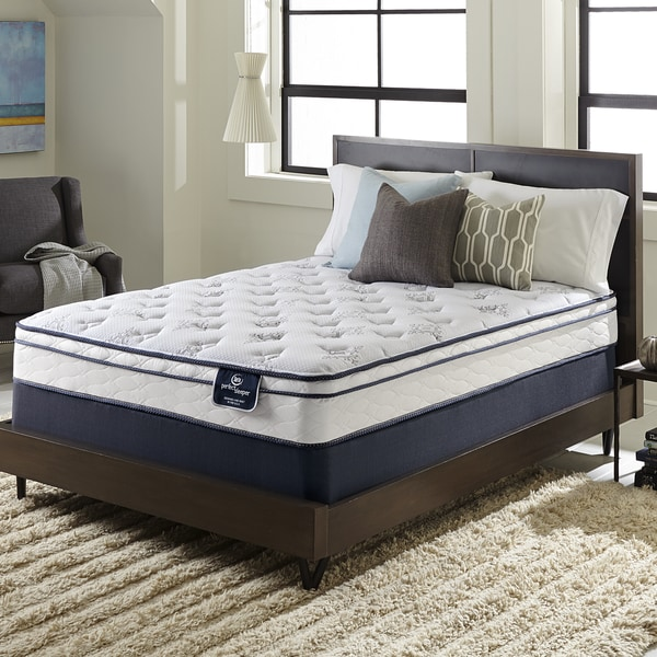 Serta perfect sleeper incite euro top split queen size for European beds for sale