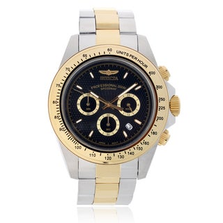 Invicta Men's 'Speedway' 18393 Two Tone Link Watch
