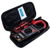 Stalwart Digital Clamp Electronic Voltage Tester Amp Meter Kit