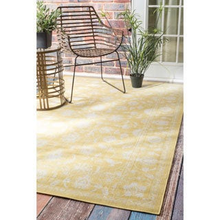 nuLOOM Traditional Modern Indoor/ Outdoor Vintage Porch Rug (7'8 x 10'3)