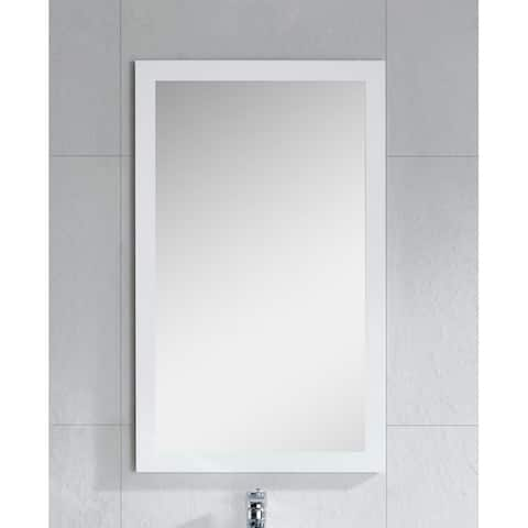 Fashion Collection High Gloss 21-inch Wall Mirror