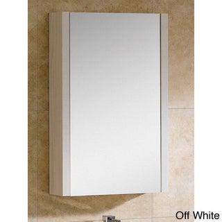 """Fine Fixtures Modena 21-inch Medicine Cabinet (Option: Modena 24"""" Off-White Grain Medicine Cabinet)"""