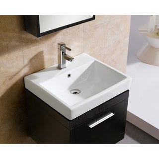 Fine Fixtures Glamour 20-inch Vanity with Vitreous China Sink Top