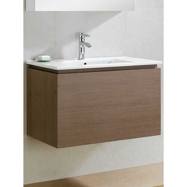 Shop Fine Fixtures Lexington 32 Inch Vanity With Vitreous