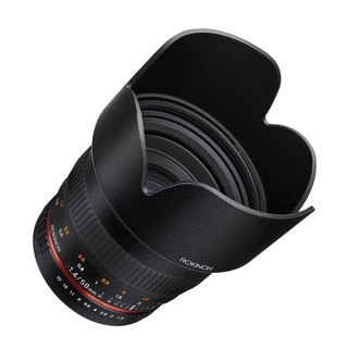 Rokinon 50mm F1.4 Lens for Canon EF Digital SLR Cameras
