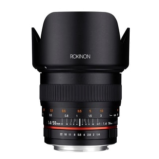 Rokinon 50mm F1.4 Lens for Pentax Digital SLR Cameras