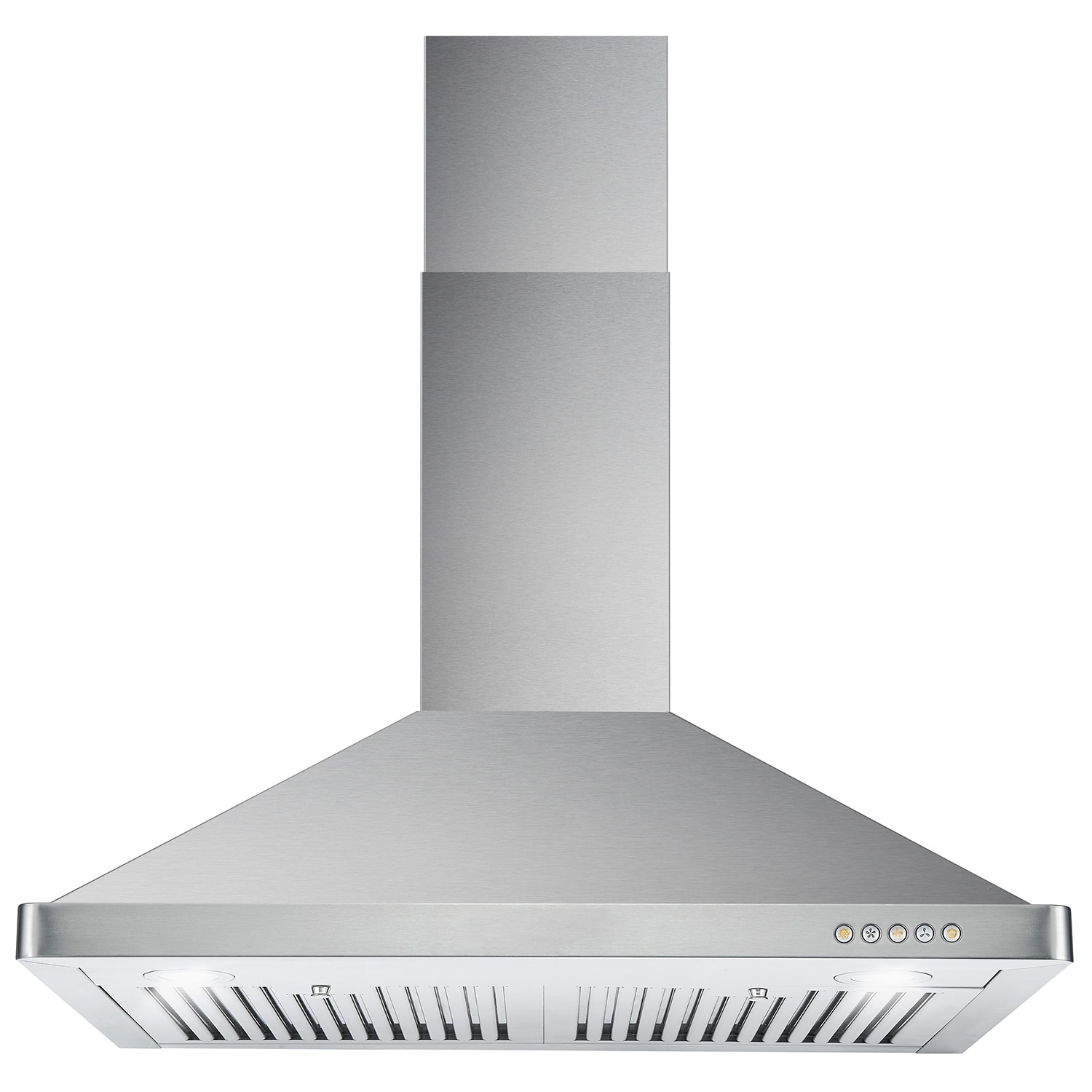 30 inch oswrh668s3bk 30 ak black stainless steel wall mount range hood - Cosmo 63190ft750 30 Inch 760 Cfm Ducted Wall Mount Stainless Steel Range Hood