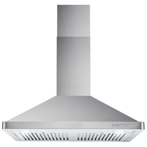 Cosmo 63190FT750 30-inch 760 CFM Ducted Wall Mount Stainless Steel Hood - STAINLESS STEEL