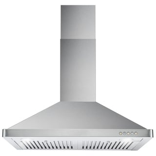 Cosmo 63190FT750 30-inch 760 CFM Ducted Wall Mount Stainless Steel Range Hood
