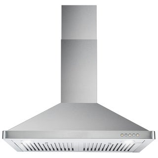 cosmo 63190ft750 30inch 760 cfm ducted wall mount stainless steel hood stainless steel
