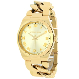Michael Kors Women's MK3393 Channing Round Goldtone Bracelet Watch