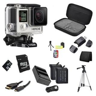 GoPro HERO4 Silver 32GB Bundle