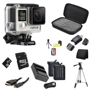 GoPro HERO4 Silver 32GB Bundle