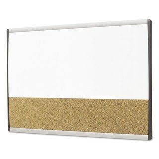 Quartet Magnetic Dry-Erase/Cork Board