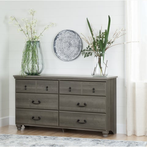 Copper Grove Riding Traditional Style 6-drawer Dresser
