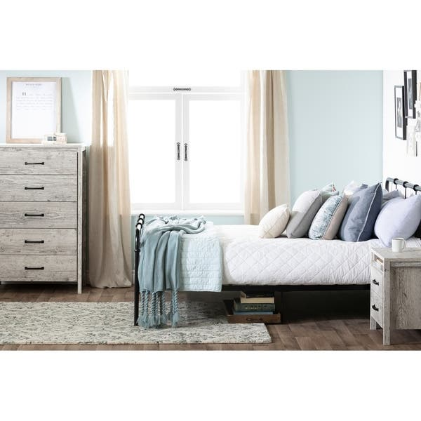 Shop South Shore Gravity 5 Drawer Chest Overstock 10175561