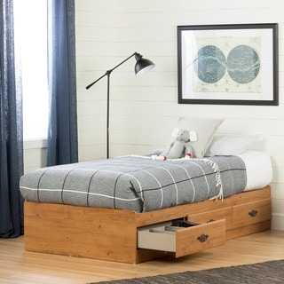 South Shore Prairie Mates Bed with 3 Drawers Size - Twin