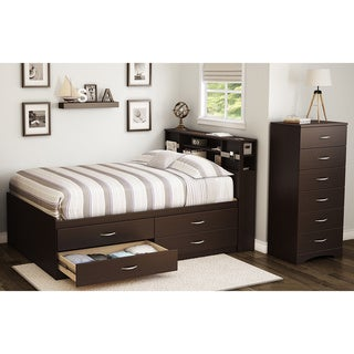 South Shore Step One Full Captain Bed (54'') with 4 Drawers