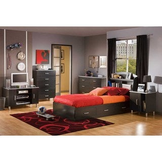 South Shore Cosmos Mates Bed with 3 Drawers Size - Twin