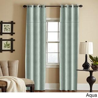 Grand Luxe 100-percent Linen York Grommet Window Panel
