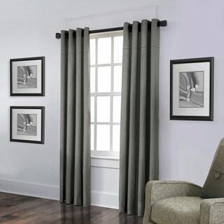 Grand Luxe Linen York Grommet Curtain Panel