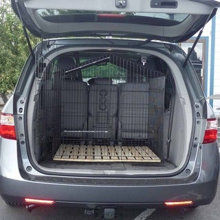 Lucky Dog Travel Kennel - black