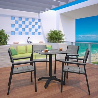 Maine 5-Piece Outdoor Patio Dining Set