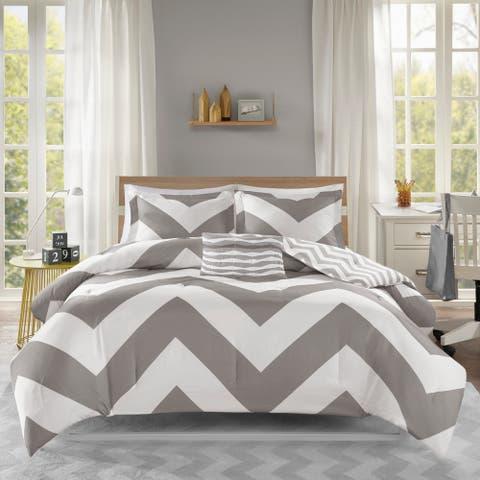 Mi Zone Gemini Grey Comforter Set