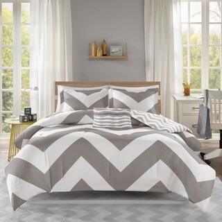 Mi Zone Gemini Reversible Grey Comforter Set (3 options available)