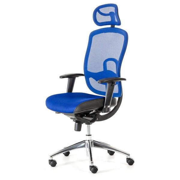 Modrest liberty modern blue office chair 17302706 overstock com