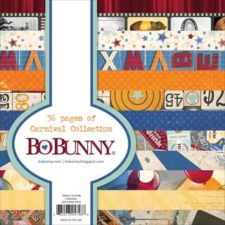 BoBunny Paper Pad 6inX6in 36/PkgCarnival