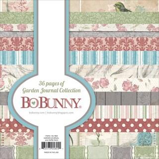 BoBunny Paper Pad 6inX6in 36/PkgGarden Journal