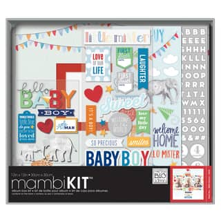 Me & My Big Ideas Boxed Album Kit 12inX12inCool Baby Boy|https://ak1.ostkcdn.com/images/products/10175741/P17302783.jpg?impolicy=medium