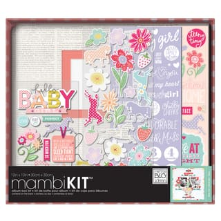 Me & My Big Ideas Boxed Album Kit 12inX12inSweet Baby Girl|https://ak1.ostkcdn.com/images/products/10175742/P17302784.jpg?impolicy=medium