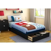 South Shore Step One Twin Platform Bed with Drawer