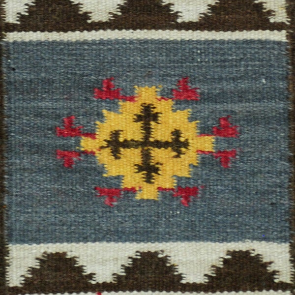 ... Herat Oriental Indo Hand Woven Vegetable Dye Tribal Wool Kilim (2u0027 X ...
