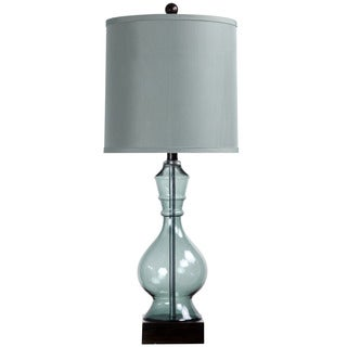 Asteria Blue Glass Table Lamp