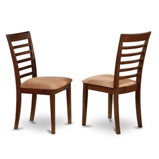 Milan Mahogany Kitchen Chair (Set of 2)