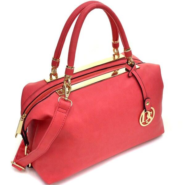 Dasein Gold-Tone Frame Shoulder Bag