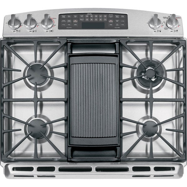 ge 30inch slidein double oven and stainless steel gas range free shipping today