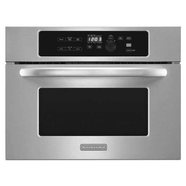 Shop Kitchenaid 24 Inch Built In Stainless Steel Microwave