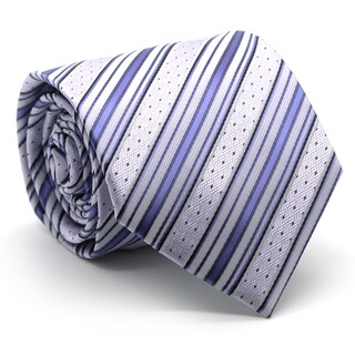 Ferrecci Mens Premium Dotted Striped Neckties (4 options available)