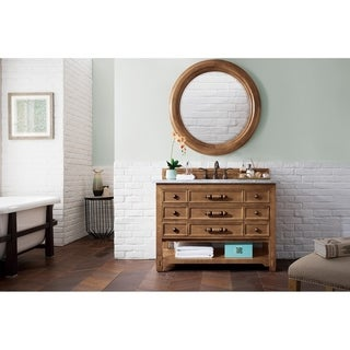 "Malibu 48"" Single Vanity Cabinet, Honey Alder"