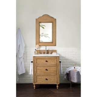 James Martin Distressed Brown 26-inch Single Bathroom Vanity