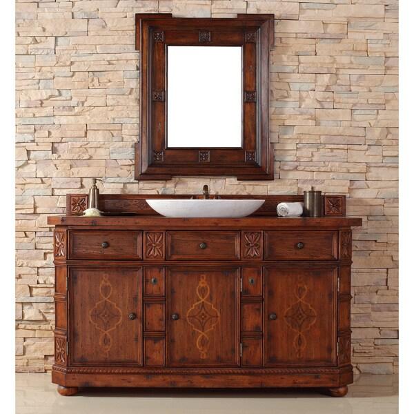James Martin Distressed Ash 60-inch Single Bathroom Vanity
