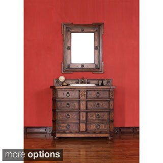 James Martin Antique Brown 42-inch Single Bathroom Vanity