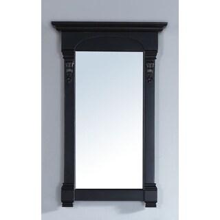 James Martin Brookfield Black 26-inch Mirror
