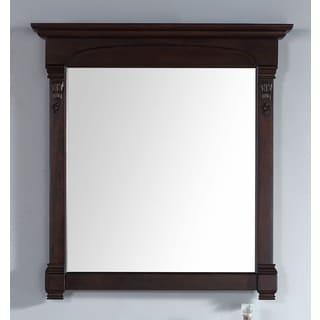 James Martin Brookfield Mahogany 39.5-inch Mirror